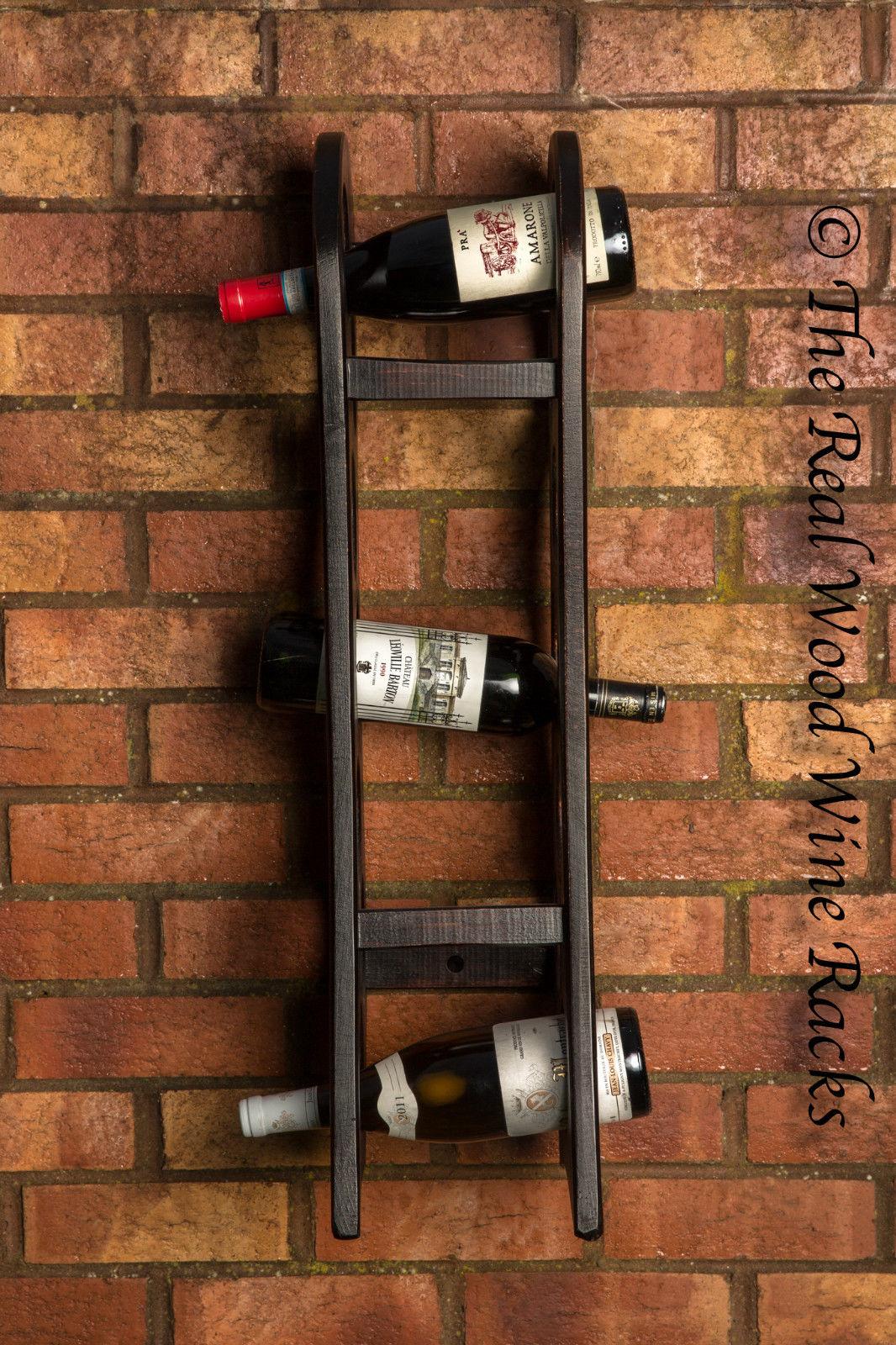 New Real Wood Wine Rack / Cabinet, 7 Bottles, Rook Hanging ...